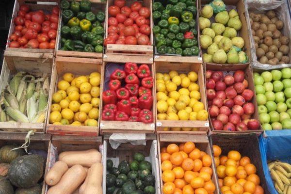Precios de las verduras en cuarentena